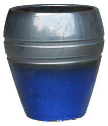 6561 Egg Pot - Eclipse, GM Imperial Blue