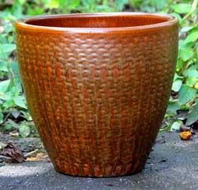 6712 Earthy Basket Cognac Borwn