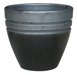 6712 New Egg Pot - Eclipse, GM Black