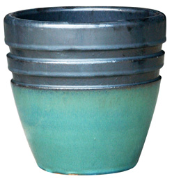 6712 New Egg Pot - Eclipse, GM Imperial Green