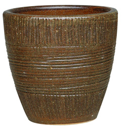 6712 New Egg Pot - Sumba, Sandy Brown
