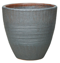 6712 New Egg Pot - Sumba, Sandy Gun Metal