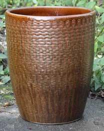 6786 Earthy Basket Cognac Brown