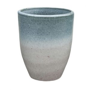 6786 Gloria Pot - Misty Grey White