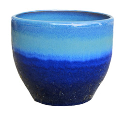 6846 Toga Bell Pot - Ming Blue