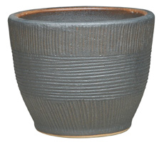 6846 Toga Bell Pot - Sumba, Sandy Gun Metal
