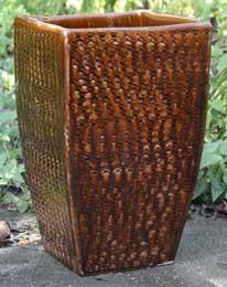 HM8018 Earthy Basket Cognac Brown