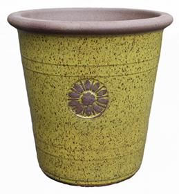 6529 Japan Pot - SSM Medallion Lipstick Yellow