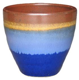 6712 New Egg - Tritone Rust Blue